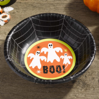 Happy Halloween Ghost Paper Bowls (8)